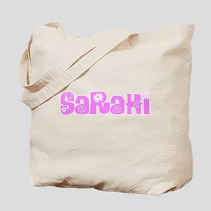 Sarahi Flower Design Tote Bag